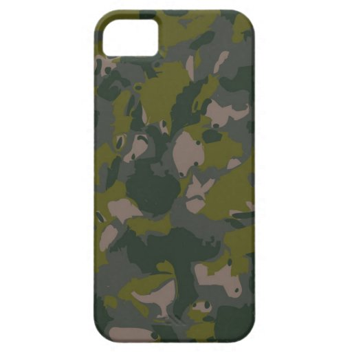 Military camouflage for army soldier Vietnam style iPhone 5 Cover