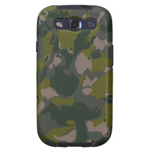 Military camouflage for army soldier Vietnam style Samsung Galaxy SIII Case