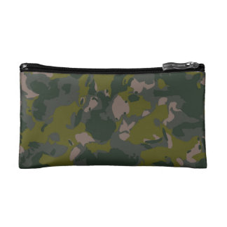 Military camouflage for army soldier Vietnam style Cosmetics Bags