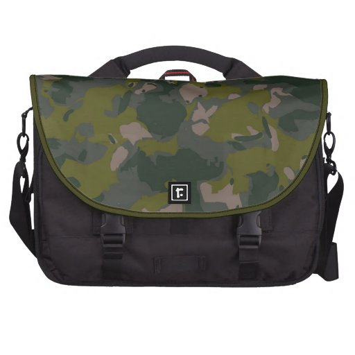 Military camouflage for army soldier Vietnam style Laptop Bag