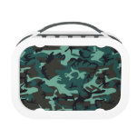 Military Camouflage Lunch Box