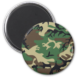Military Camouflage Magnet
