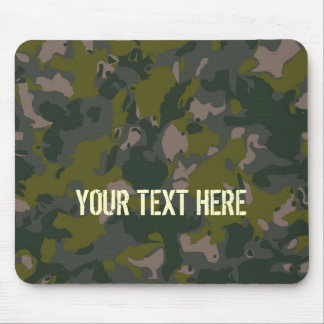 Military camouflage mouse mat