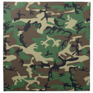 Military Camouflage Napkin