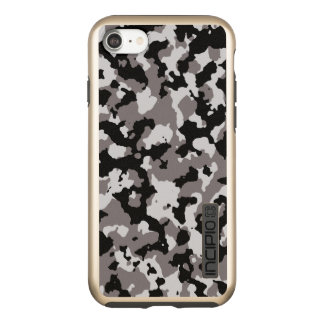 Military Camouflage Pattern | Gray Camo Incipio DualPro Shine iPhone 8/7 Case