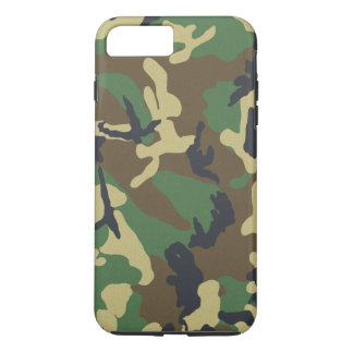 Military Camouflage Pattern iPhone 8 Plus/7 Plus Case