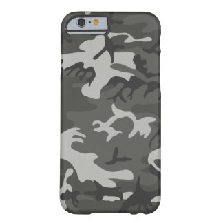 Military Camouflage Pattern, Urban Style, Larger Barely There iPhone 6 Case