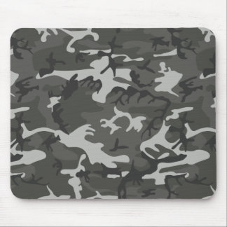 Military Camouflage Pattern, Urban Style Mouse Mat