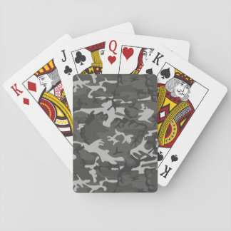 Military Camouflage Pattern, Urban Style Playing Cards