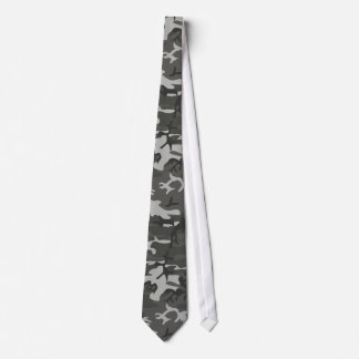 Military Camouflage Pattern, Urban Style Tie