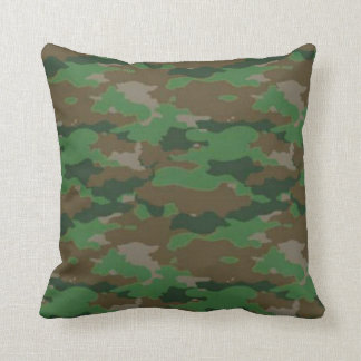 Military camouflage pillow