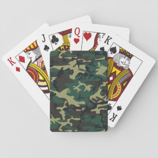 Military Camouflage Playing Cards