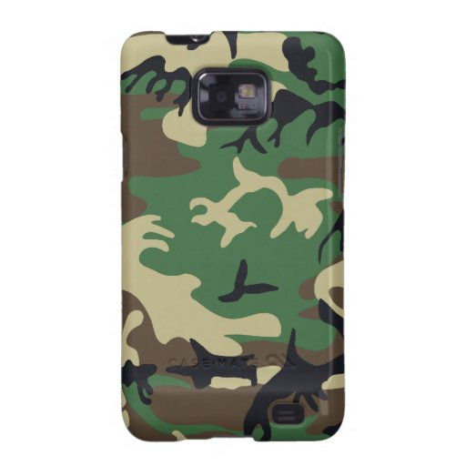 Military Camouflage Samsung Galaxy Case Samsung Galaxy S2 Cover