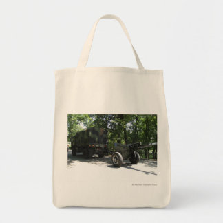 Military Cannon Tote Bags
