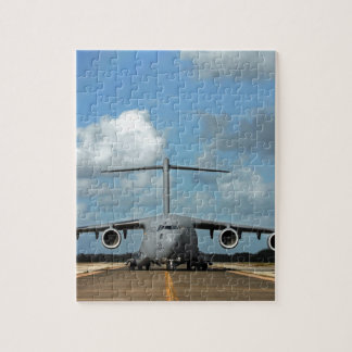 Military cargo plane landing jigsaw puzzle