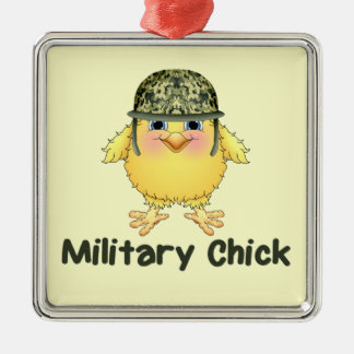 Military Chicks Christmas Tree Ornament