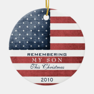 Military Christmas Christmas Ornament