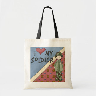 Military Collection Army Man Soldier ToteBag Canvas Bags