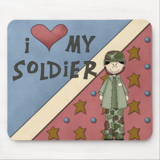 Military Collection Army Soldier Man Mousepad