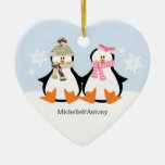 Military Couple Christmas Ornaments