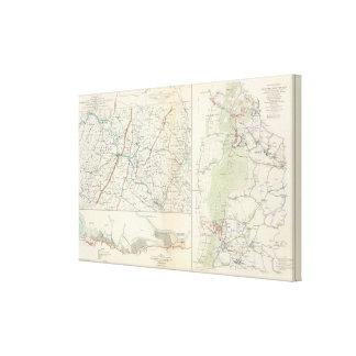 Military depts of Wash, Penn, Annapolis, NE Va Canvas Print
