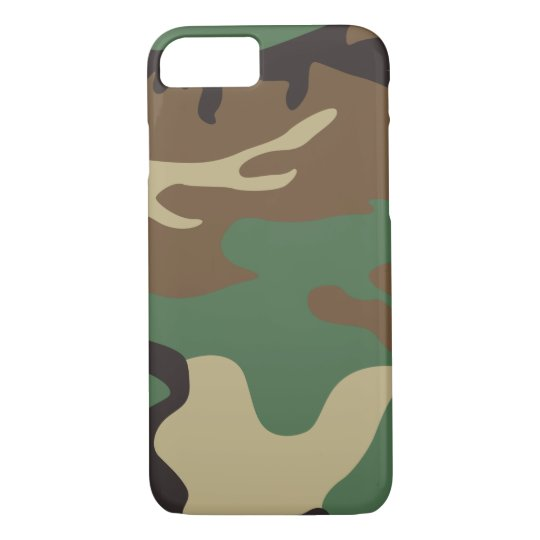 Military Design  Camouflage cool iPhone 7 Case