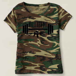 Military Fit camo T-Shirt