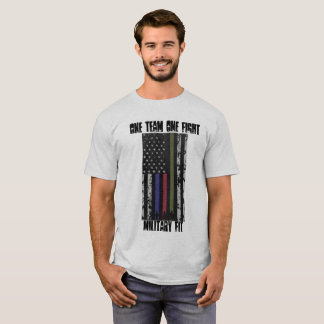 Military Fit t-shirt flag