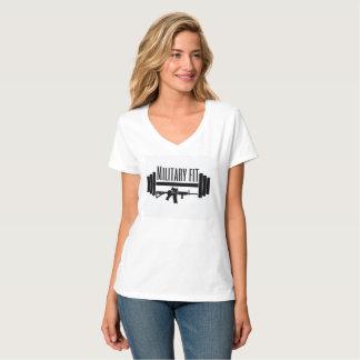 military fit v-neck T-Shirt