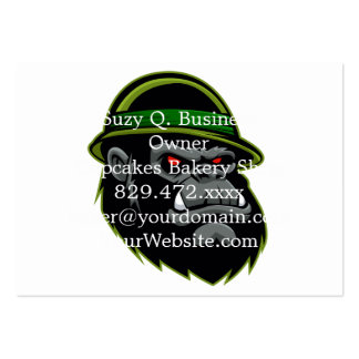 Military Gorilla Head Pack Of Chubby Business Cards