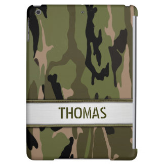 Military Green Camo Name Template