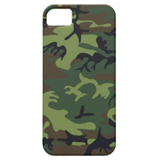 Military Green Camouflage iPhone 5 Cover