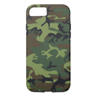 Military Green Camouflage iPhone 8/7 Case