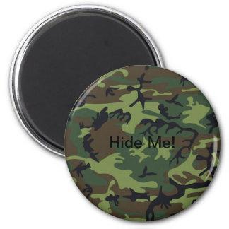 Military Green Camouflage Refrigerator Magnets