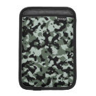 Military Green Camouflage Pattern iPad Mini Sleeve
