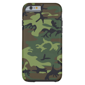 Military Green Camouflage Tough iPhone 6 Case
