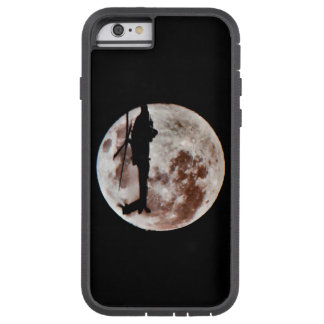 Military Helicopter Against the Moon at Night Tough Xtreme iPhone 6 Case