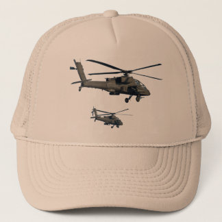 Military Helicopter Baseball Cap