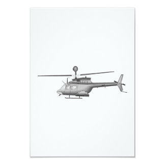 Military Helicopter Card