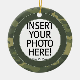 Military Hero - Camo DOUBLE-SIDED Christmas Ornament