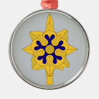 Military Intelligence Insignia Christmas Ornament