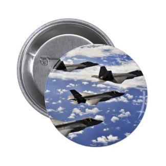 Military jest 6 cm round badge