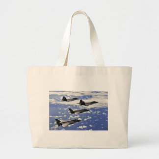 Military jest large tote bag