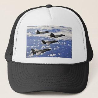 Military jest trucker hat