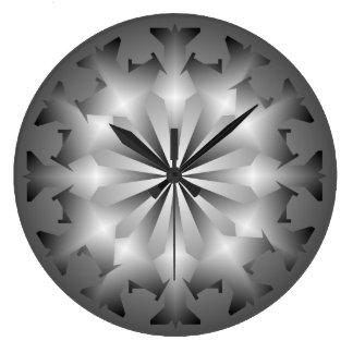 Military Jet Pattern Wall Clock