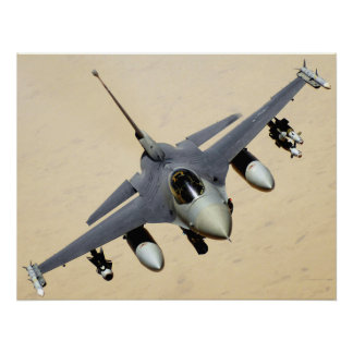 Military Jet Plane Poster
