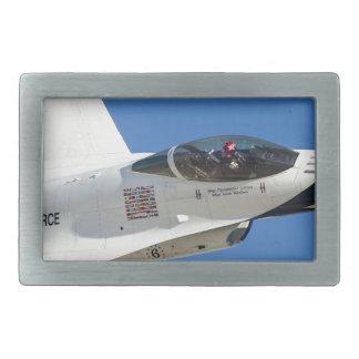 Military jet rectangular belt buckles