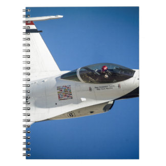 Military jet spiral notebooks