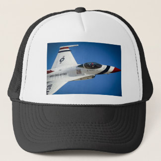 Military jet trucker hat