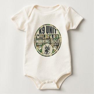 Military K9 Unit Working Dogs Baby Bodysuit